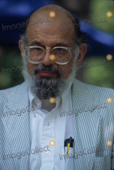 Allen Ginsberg Photo - Allen Ginsberg 1996 Change Your Mind Day (Zen) at Central Park  New York 30542rh Photo by Rose Hartman-Globe Photos Inc