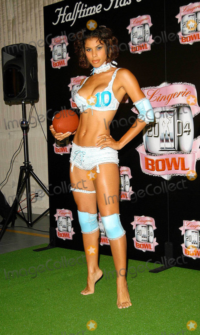 Traci Bingham Photo - - Angie Everhart Nikki Ziering and Traci Bingham Unveils Plans For Lingerie Bowl 2004 - Quixote Studios West Hollywood CA - 06252003 - Photo by Jonathan Friolo  Globe Photos Inc 2003 - Lingerie Bowl Model