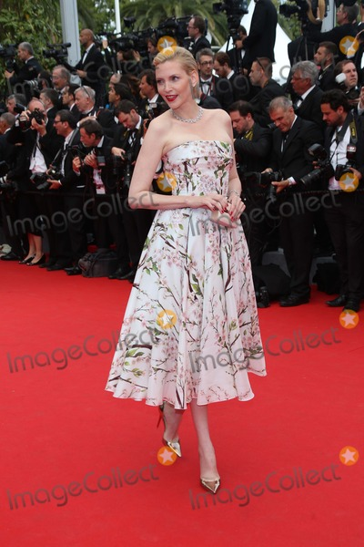 Nadja Auermann Photo - Model Nadja Auermann attends the Premiere of Grace of Monaco During the Opening of the 67th Cannes International Film Festival at Palais Des Festivals in Cannes France on 14 May 2014 Photo Alec Michael Photo by Alec Michaeln-Globe Photosinc