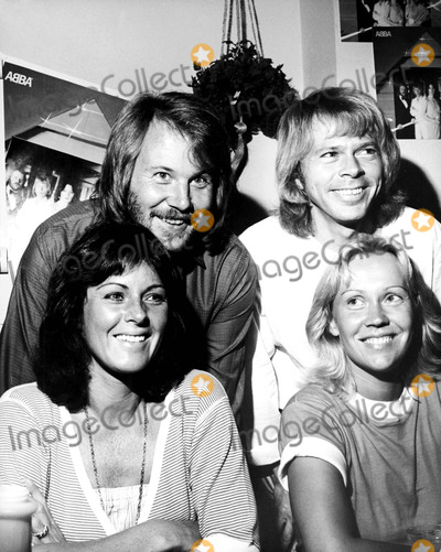 ABBA Photo - Benny Anderson Bjorn Ulvaeus Anni-frid Lyngstad and Agnetha Faltskog of Abba 91979 Nate CutlerGlobe Photos Inc
