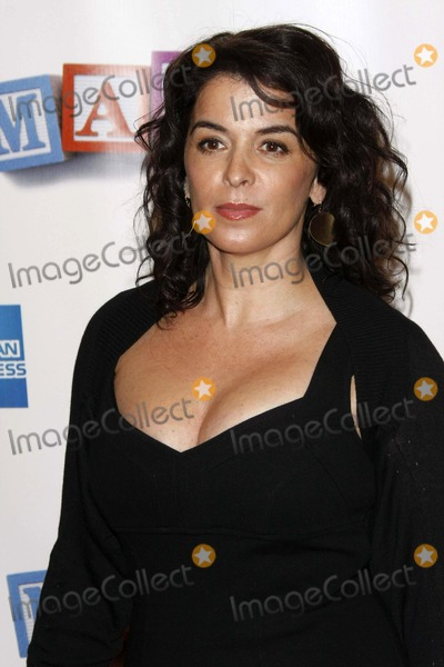 Annabella Sciorra Photo - Actress Annabella Sciorra Arriving at the World Premiere of the Film Baby Mama During Tribeca International Filmfest at Ziegfeld Theatre in Manhattan New York USA on April 23th 2008 Photo by Alec Michael-Globe Photos 2008