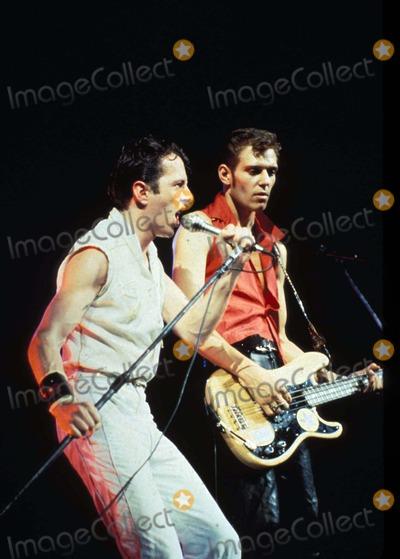 Joe Strummer Photo - the Clash in Concert in Vienna Austria 10-1981 Photo by Felix Zeitlhofer-pr-Globe Photos Joe Strummer 1181-2 Joe Strummer and Paul Simonon