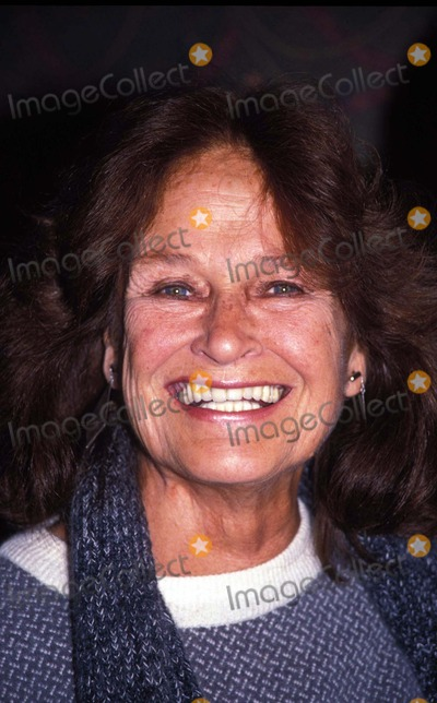 Colleen Dewhurst Photo - 1989 Colleen Dewhurst Photo by Adam Scull-rangefinders-Globe Photos
