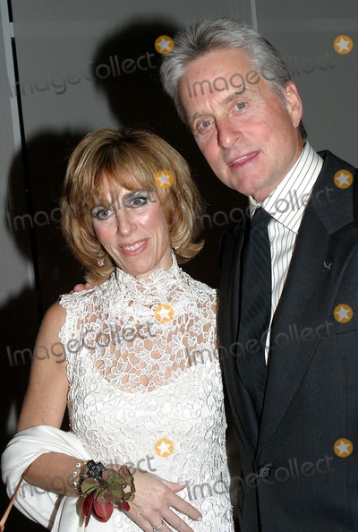 Nancy Spielberg Photo - Children at Heart Gala-celebrity Fantasy Auction at Pier 60  New York City 11-22-2004 Photo by Barry TalesnickipolGlobe Photosinc Michael Douglas_nancy Spielberg
