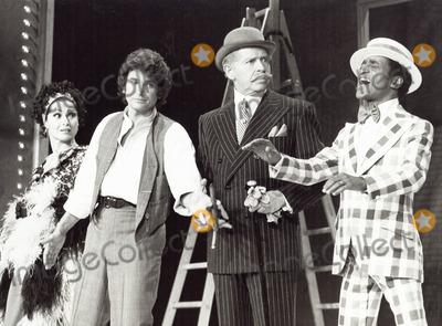 Michael Landon Photo - Michael London with Carol Lawrence  Milton Berle and Sammy Davis Jr Sammy Davis Starring in NBC Follies 1973 Supplied by Globe Photos Inc