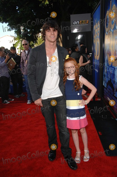 Lacianne Carriere Photo - Rj Mitte and Lacianne Carriere During the Premiere of the New Movie From Twentieth Century Fox Glee the 3d Concert Movie Held at the Regency Village Theater on August 6 2011 in Los Angeles Photo Michael Germana - Globe Photos Inc