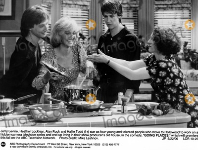 Alan Ruck Photo - Going Places Jerry Levine Heather Locklear Alan Ruck and Hallie Todd Supplied by SmpGlobe Photos Inc