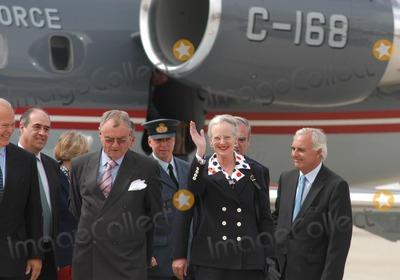 Queen Fabiola Photo - AlfaquiglobelinkukcomGlobe Photos 000799 05212004 Queen Margrethe  Prince Henrik of Denmark Royal Wedding of Prince Felipe of Spain  Letizia Ortiz -Airport Arrivals -Barajas Airportmadrid