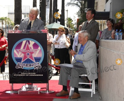 Charles Champlin Photo - Kevin Thomas Leron Gubler and Charles Champlin During a Ceremony Honoring Film Critic Charles Champlin with a Star on the Hollywood Walk of Fame on August 3 2007 in Los Angeles Photo by Michael Germana-Globe Photosinc