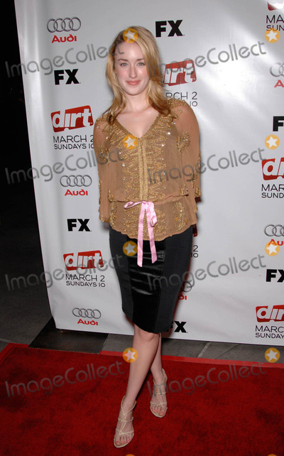 Ashley Johnson Photo - Ashley Johnson During the Season Two Premiere Screening of Dirt Held at the Archlight Hollywood Cinema on February 28 2008 in Los Angeles Photo by Michael Germana-Globe Photosinc