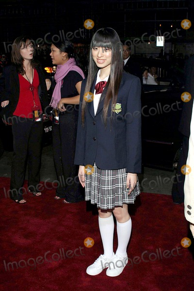 Chiaki Kuriyama Photo - 92903 Premiere of Kill Bill Graumans Chinese Theater Hollywood CA Chiaki Kuriyama Phototom Rodriguez  Globe Photos Inc