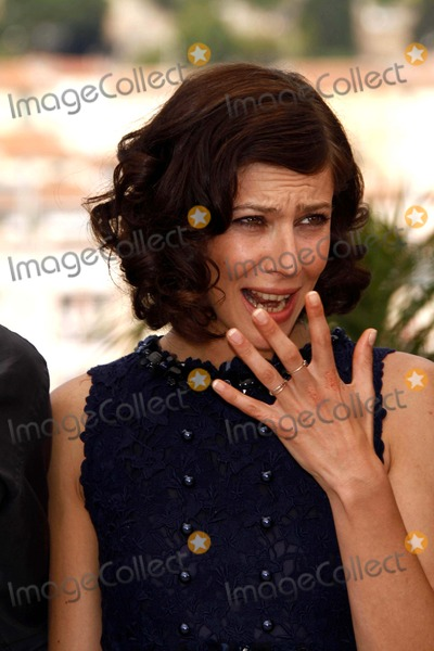 Anna Mouglalis Photo - Anna Mouglalis Poses Before the Press Conference of Coco Chanel  Igor Stravinsky During the 2009 Cannes Film Festival at Palais Des Festivals in Cannes France 05-24-2009 Photo by Alec Michael-Globe Photos