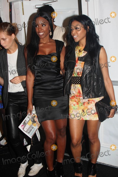 Amerie Photo - Mercedes-benz Fashion Week Spring 2010 Christian Siriano - Front Row and Backstage at Bryant Park 09-12-2009 Photo by Barry Talesnick-Globe Photos Inc Kelly Rowland and Amerie