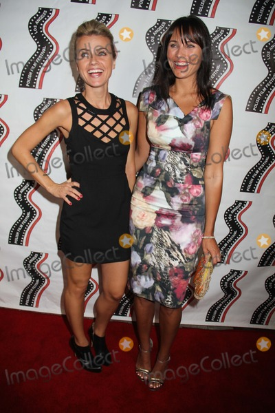 Agnes Olech Photo - Polish Film Festival Los Angeles 2014 Egyptian Theatre Hollywood CA 10072014 Agnes Olech and Nancy Stelmaszczyk Clinton H WallaceGlobe Photos Inc