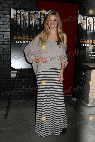 Alice Callahan Photo - Screening of Margin Call Hosted by the Wall Street Journal and Forevermark Sunshine Landmark Theater NYC October 17 2011 Photos by Sonia Moskowitz Globe Photos Inc 2011 Alice Callahan