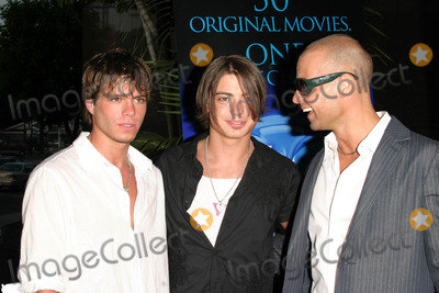 Andrew Lawrence Photo - Los Angeles Premiere of Tiger Cruise at the Directors Guild of America Theatre in Los Angeles California 07272004 Photo by Kathryn IndiekGlobe Photos Inc 2004 Matthew Lawrence Andrew Lawrence and Joseph Aka Joey Lawrence