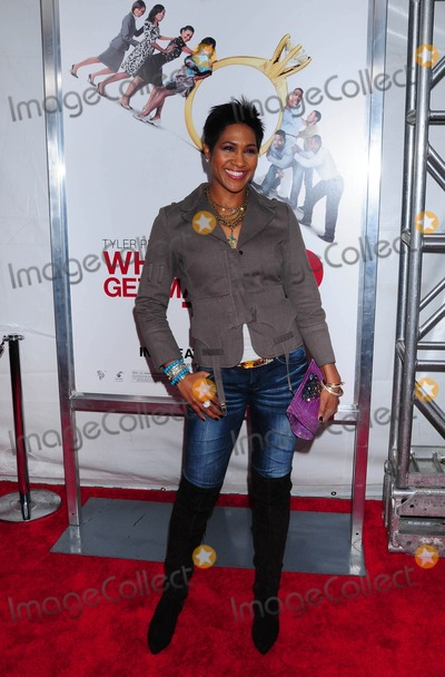Terri Vaughn Photo - a Screening of Tyler Perrys Why Did I Get Married Too at School of Visual Arts Theater in New York City on 03-22-2010 Photo by Ken Babolcsay-ipol-Globe Photos Inc 2010 Terri J Vaughn