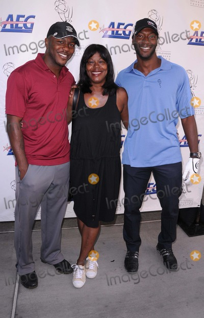 Aldis Hodges Photo - Academy of Television Arts  Sciences 12th Primetime Emmy Celebrity Tee-off at the Oakmont Country Club in Glendale CA 91211 Photo by Scott Kirkland-Globe Photos   2011 Edwin Hodge Aldis Hodge and Their Mother