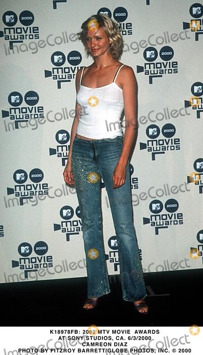 Cameron Diaz Photo -  2000 Mtv Movie Awards at Sony Studios CA 632000 Cameron Diaz Photo by Fitzroy BarrettGlobe Photos Inc