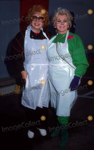 Audrey Meadows Photo - Zsa Zsa Gabor with Audrey Meadows at Hollywood Stars Serve Homeless 12-29-1988 15314 Photo by Phil Roach-ipol-Globe Photos Inc