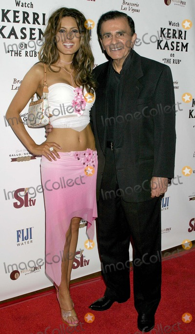 Casey Kasem Photo - Sitv Network Celebrates the Birthday of Tv and Radio Personality Kerri Kasem at Brasserie Les Voyous Hollywood CA (072104) Photo by ClintonhwallaceipolGlobe Photos Inc2004 Kerri Kasem with Father Casey Kasem