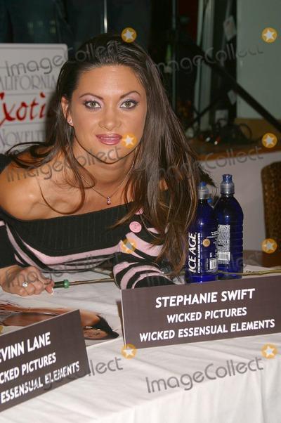 Stephanie Swift Photo - Stars of California Exotic Novelties Hustler Hollywood Hollywood California 02192004 Photo by Clinton H WallaceGlobephotos Inc 2004 Stephanie Swift