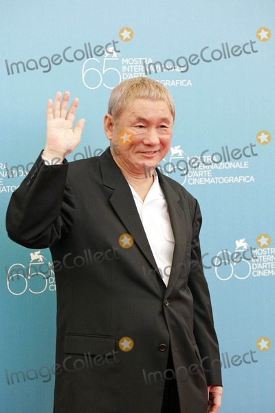 Akir Photo - Takeshi Kitano K59394rharv  Akires to Kame  - Photocall at 65th Venice Film Festival in Venice Italy 08-28-2008 Photo by Roger Harvey-Globe Photos Inc
