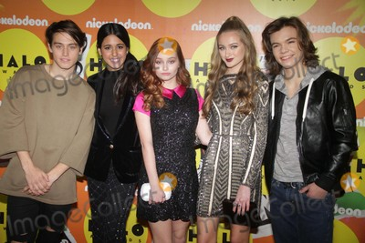 Anne Jackson Photo - Cast of Talia in the Kitchenltor Liam Obergfollmaria Quezdaellis Ann Jacksongail Soltysjoshua Hoffman at Nickelodeon Halo Awards at Pier 36 South Street 11-14-2015 John BarrettGlobe Photos
