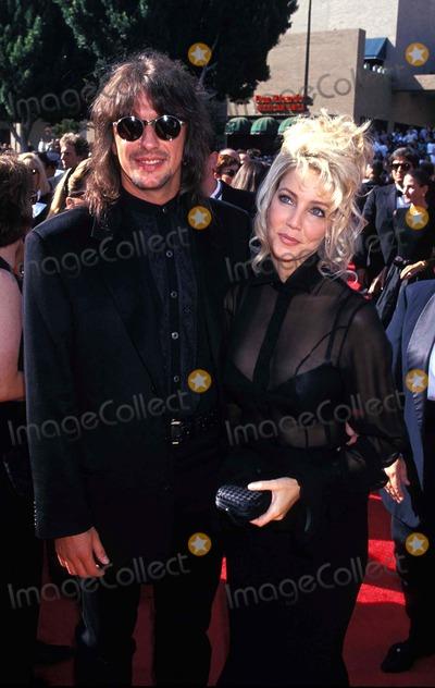 Heather Locklear Photo - Emmy Awards Heather Locklear and Richie Sambora Photo by Lisa Rose-Globe Photos Inc