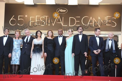 Andrea Arnold Photo - Jury Members Director Alexander Payne (l-r) Director Andrea Arnold  Fashion Designer Jean-paul Gautie Actress Hiam Abbass Actress Emmanuelle Devos Director Raoul Peck Actress Diane Kruger President of the Jury Director Nanni Moretti Actor Ewan Mcgregor and President of the Cannes Film Festival Gilles Jacob Arrive at the Opening of the 65th Cannes Film Festival at Palais Des Festivals in Cannes France on 16 May 2012 Photo Alec Michael Photo by Alec Michael-Globe Photos Inc