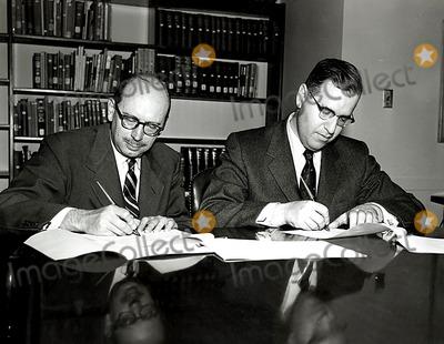 ABBA Photo - Deputy Assistant Secretary of State John D Jernegan and Israeli Minister of Foreign Affairs Abba Eban 4291955 G-2339 H eGlobe Photos Inc Obit
