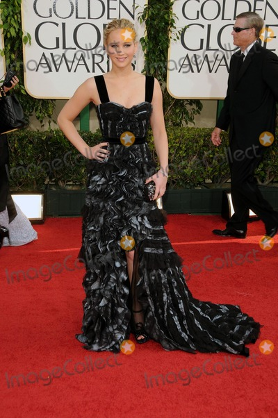 Jennifer Lawrence Photo - Jennifer Lawrence 68th Annual Golden Globe Awards (Arrivals) Held at the Beverly Hilton Hotel Los Angeles CA January 16 - 2011 photo Dlongglobephotos