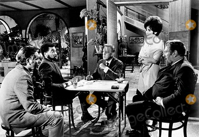 Alec Guinness Photo - Richard Burton James Earl Jones Alec Guinness and Peter Ustinov in a Scene From the Comedians Supplied by SmpGlobe Photos Inc