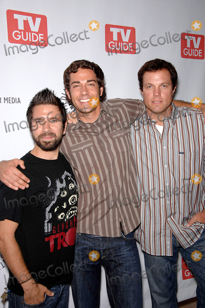 Adam Baldwin Photo - Joshua Gomez Zachary Levi and Adam Baldwin during The Paley Center and TV Guides public preview of Fall 2008 television shows from NBC network held at the The Paley Center for Media on September 8 2008 in Beverly Hills CaliforniaPhoto Michael Germana  - Globe PhotosK59261MGE
