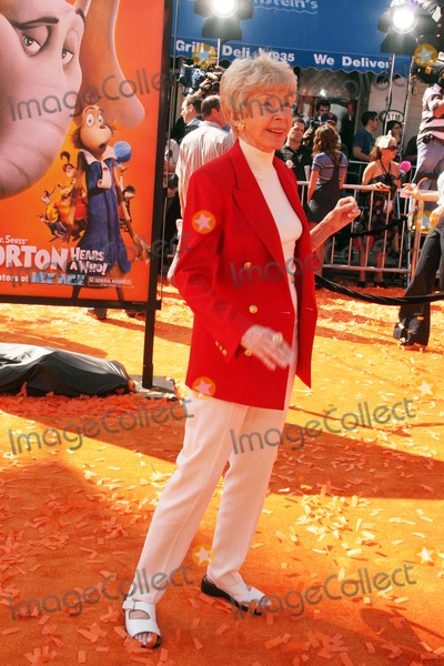Audrey Geisel Photo - Dr Seuss Horton Hears a Who World Premiere Mann Village Theatre Westwood CA 030808 Audrey Geisel Photo Clinton H Wallace-photomundo-Globe Photos Inc
