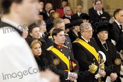 Paola De Belgique Photo - Funeral of Grande Duchesse Josephine Charlotte DE Luxembourg 01-15-2005 Guillaume DE Lux Albert Et Paola DE Belgique Omedias Le 15  01  05