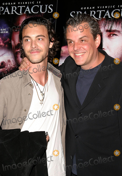 Jack Huston Photo - World Premiere of USA Networks Epic Miniseries Spartacus at the Dga Theatre in Hollywood CA 04062004 Photo by Kathryn IndiekGlobe Photos Inc 2004 Danny Huston and Brother Jack Huston