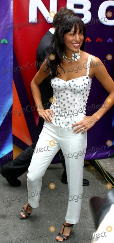 Aya Sumika Photo - 2004-2005 NBC Upfront Party at the NBC Studios in Rockefeller Center New York City 05172004 Photo by Rick MacklerrangefinderGlobe Photosinc Aya Sumika
