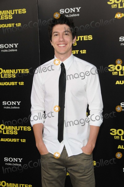 Jared Kusnitz Photo - Jared Kusnitz attending the Columbia Pictures World Premiere of 30 Minutes or Less Held at the Graumans Chinese Theatre in Hollywood California on 8811 Photo by D Long- Globe Photos Inc