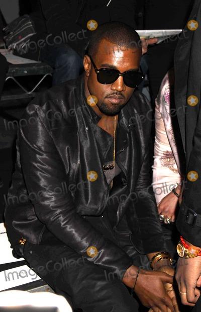 Alexander Wang Photo - Kanye West at Alexander Wang Fashion Show at Pier 94 W55st 2-12-11 Photo by John BarrettGlobe Photos Inc2011