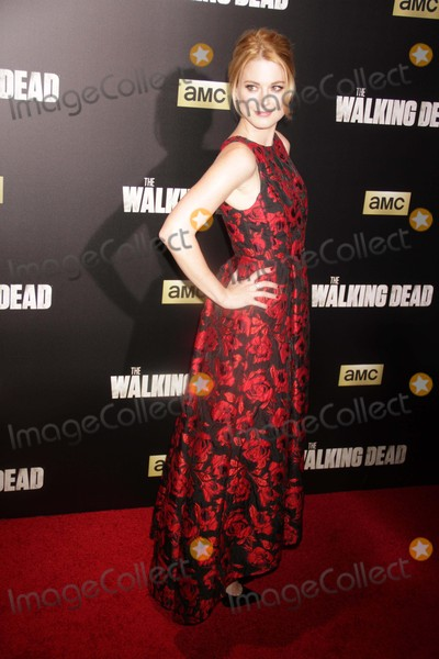 Alexandra Breckenridge Photo - Alexandra Breckenridge at Amc Season Six Debut of the Walking Dead at Fan Premiere Event at Madison Square Garden 10-9-2015 John BarrettGlobe Photos