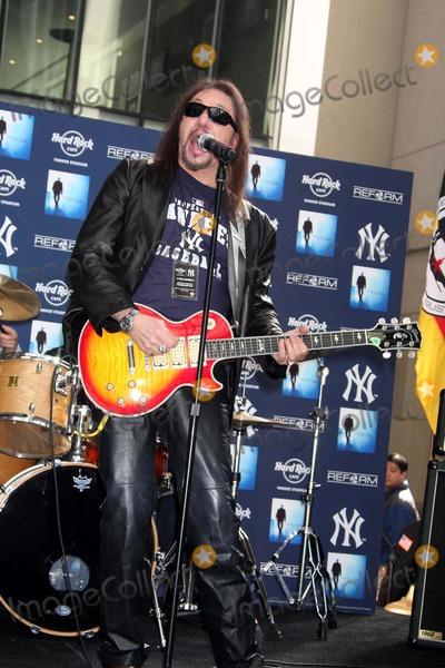 Ace Frehley Photo - Ace Frehley (of Kiss Group) at Opening of Hard Rock Cafe at New Yankee Stadium New York 04-02-2009 Photos by John Barrett-Globe Photos Inc2009