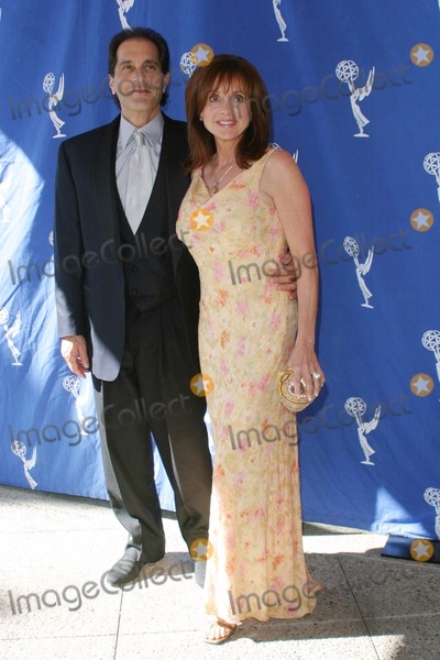 Jackie Zeman Photo - Jackie Zeman and Husband Glenn Gorden - 56th Annual Los Angeles Area Emmy Awards - Academy of Television Arts  Sciences North Hollywood California - 08282004 - Photo by Nina PrommerGlobe Photos Inc 2004