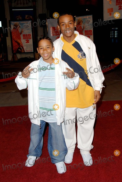 Zachary Isaiah Williams Photo - Big Mommas House 2 Premiere at Manns Grauman Chinese Theater Hollywood CA 1252006 Photo by Fitzroy Barrett  Globe Photos Inc 2006 Zachary Isaiah Williams and Oren Williams