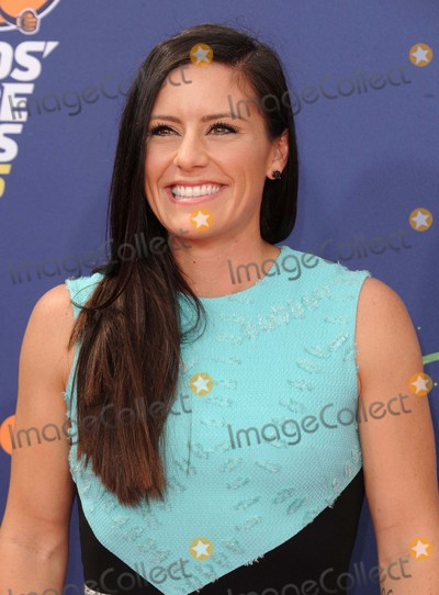 Ali Krieger Photo - Ali Krieger attending the Nickelodeon Kids Choice Sports Awards 2015 Red Carpet Held at the Uclas Pauley Pavilion in Westwood California on July 16 2015 Photo by D Long- Globe Photos Inc
