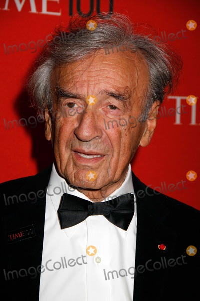 Elie Wiesel Photo - Elie Wiesel Arrives For the Time 100 Gala at Frederick P Rose Hall at Lincoln Center in New York on April 24 2012 Photo by Sharon NeetlesGlobe Photos Inc