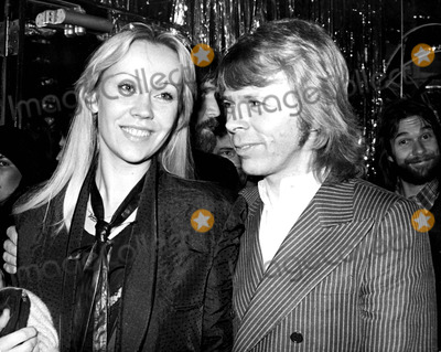Agnetha Faltskog Photo - Agnetha Faltskog and Bjorn Ulvaeus of Abba 11979 Art ZelinGlobe Photos Inc