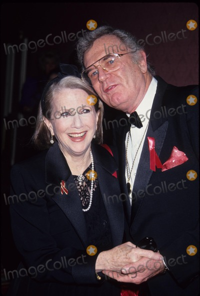Charles Nelson Reilly Photo - Julie Harris with Charles Nelson Reilly L4833st American Academy of Dramatic Arts 1993 Photo by Stephen Trupp-Globe Photos Inc