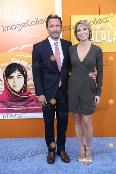 Andrew Shue Photo - Andrew Shue and Amy Robach Attend the New York Premiere of He Named Me Malala the Ziegfeld Theater NYC September 24 2015 Photos by Sonia Moskowitz Globe Photos Inc