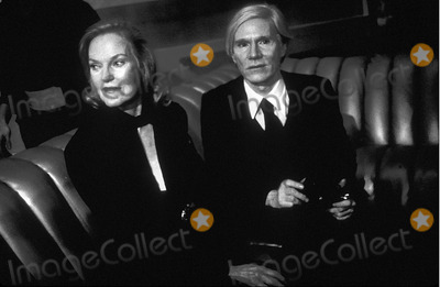 Andy Warhol Photo - Andy Warhol and Doris Duke at Studio 54 Photo Rose Hartman-Globe Photos Inc
